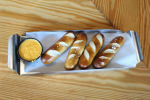 Pretzels with Beer Cheese