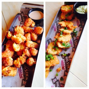 Cheese Curds & Fried Pickles