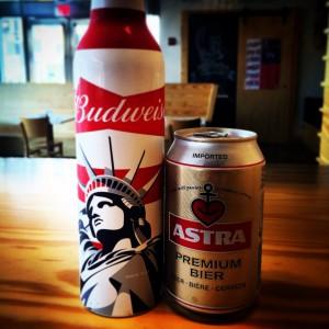 Budweiser & Astra